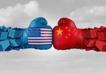 USA AND CHINA BOXING GLOVES