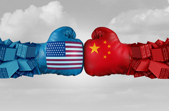 USA AND CHINA BOXING GLOVES